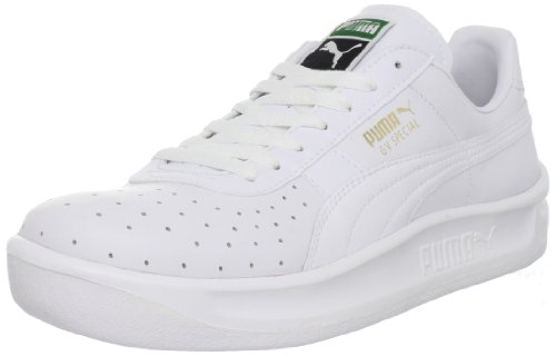 PUMA Men's GV Special Lace-Up Fashion Sneaker, White/White, 10.5 M US (Puma Gv Special White)