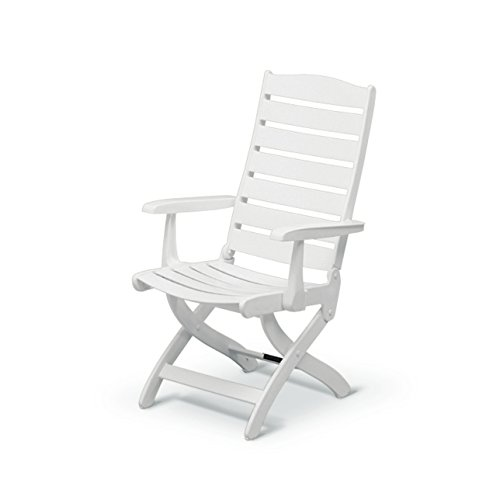 Kettler caribic armchair white import it all for Chaise kettler