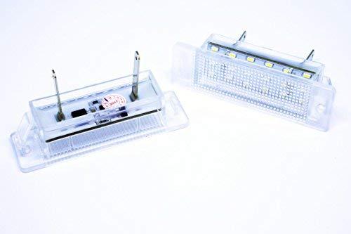 VINSTAR 2X Luces DE MATRICULA LED para CALIBRA Astra F CANBUS