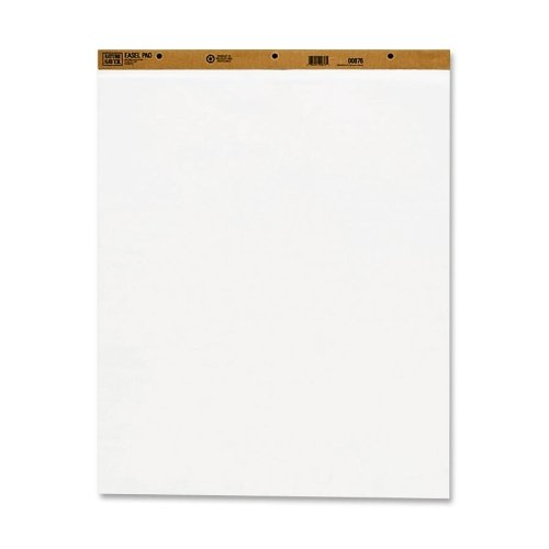 Wholesale CASE of 5 - Nature Saver Recycled Plain Easel Pads-Easel Pad, Plain Ruled, 50 Sheets, 27''x34'', 2/CT, White