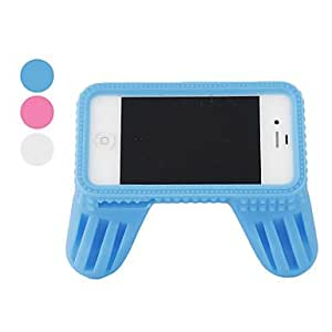Ships in 24 hours sold out Game Hand Shank Style Case for iPhone 4 and 4S (Assorted Colors) , Red
