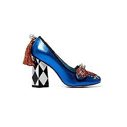 Crystal Pearl Tassel & Leather High Heels