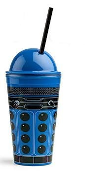 Doctor Who - STRATEGIST DALEK (Blue) 16oz Tumbler Collector Cup