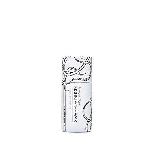 Brighton Beard Company Jevington Jiggs's Mandarin & Cedarwood Extra Firm Moustache Wax, Handmade & Reworkable Wax Stick 15ml