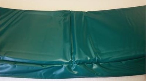 Family Store Network Hunter Green Made In USA 10' Trampoline Frame Pad 10'' Wide