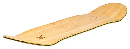 Bamboo Skateboards Blank Skateboard Deck - POP - Strength - Sustainability  (8 0
