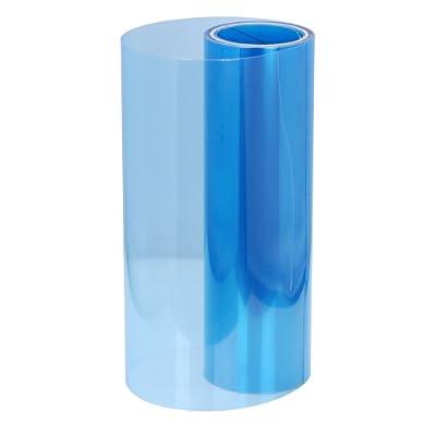 "12"" x 24"" Custom DIY Blue Glossy Tint Vinyl Film Sticker Cover Wrap Overlay Protector For Honda Toyota Nissan Mazda Suzuki Headlamp Tailight Fog Light"