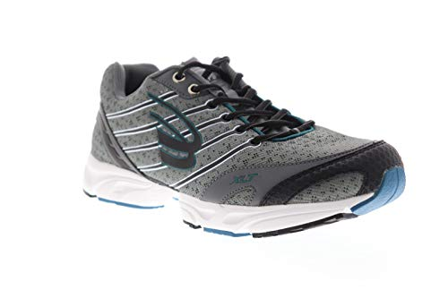 Spira Stinger XLT 2 Mens Gray Mesh Athletic Lace Up Running Shoes 9.5