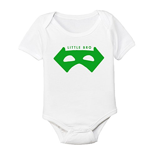 Masked Superheroes (Masked Superhero Big Brother Little Brother Shirt (Little Bro 0-3M))