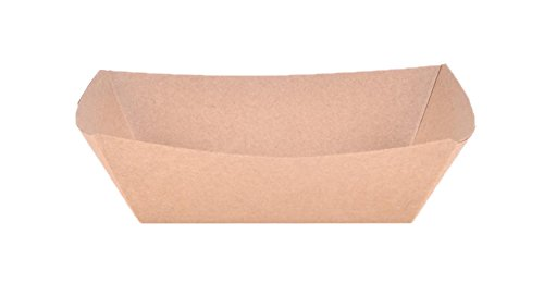 Bowl Tray (Southern Champion Tray 0513#100 ECO Kraft Paperboard Food Tray/Boat/Bowl, 1-lb Capacity (Case of 1000))