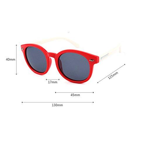 Color Red Gafas Gafas Gafas UV400 Style Lens Arrow Childrens Clásicas Black de Shades Sol Unisex de Sol Pink THrqwdnZH