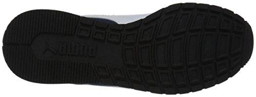 PUMA Unisex-Kids ST Runner V2 Mesh Sneaker, Peacoat White, 2 M US Little Kid by PUMA (Image #3)
