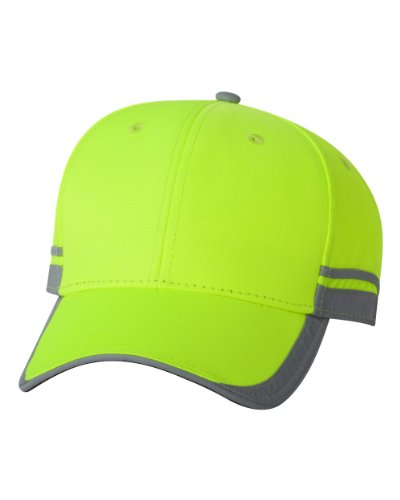 Outdoor Cap - Reflective Cap - SAF201 - One Size - Safety Yellow