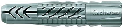 Gipskarton uvm Handtuchhaltern in Beton 94721 Art.-Nr fischer UX 5 x 30 Universald/übel zum Befestigen von Bildern - 100 St/ück Gardinenschienen Mauerwerk
