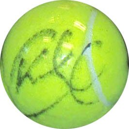 Kim Clijsters Signed Ace Authentic Tennis Ball.