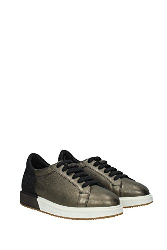 Cuir Sneakers MZALG1060 CUCINELLI Or Femme EU BRUNELLO tZqPfw
