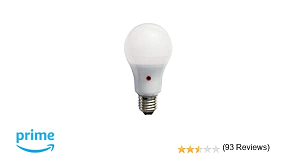 F-Bright Bombilla led Standard con Sensor. E27, 12 W, Blanco, 12.5 x 6.5 cm: Amazon.es: Iluminación