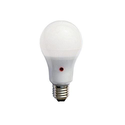 F-Bright Bombilla led standard con sensor crepuscular. E27, 12 W, Blanco, 12.5 x 6.5 cm: Amazon.es: Iluminación