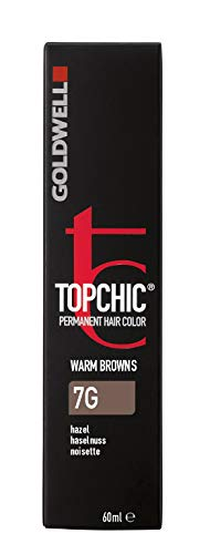 Goldwell Topchic Hair Color, 7g Hazel, 2.03 Ounce