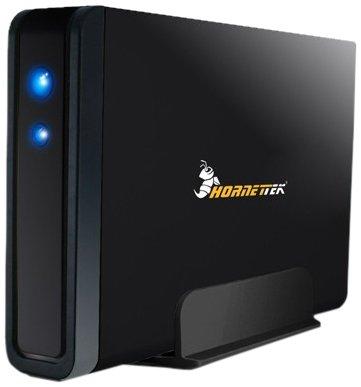 Hornettek Viper 3.5in eSATA and USB 2.0 SATA HDD Enclosure(HT-316SSC) (Wd Ext Hdd)