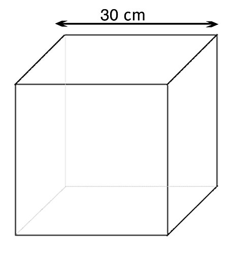 FTM - Cubos de goma espuma (30 x 30 x 30 cm)  Amazon.es  Hogar 45df9d54419