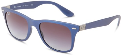 Ray-Ban WAYFARER LITEFORCE - BLUE Frame GREY GRADIENT Lenses 52mm - Ban Liteforce Ray Wayfarer