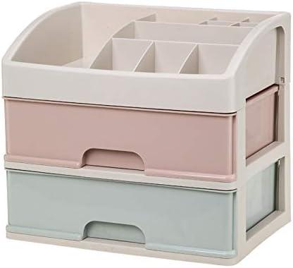 Wuyue Hua - Caja organizadora de Maquillaje (tamaño pequeño, cajón ...