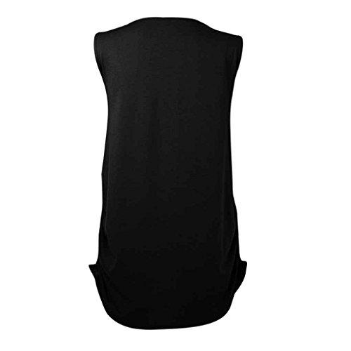 e Shirt Maniche T Incinta Mengonee Shirt con da Corte Donna Nero morbide T 1BvCv5xwq