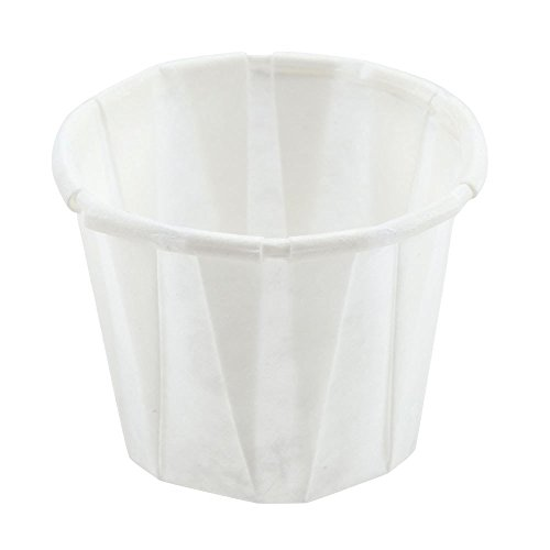 SOLO Paper Medicine Cups - 3/4 oz., Box of 250