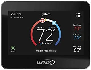 Lennox 15Z69 iComfort M30 termostato universal programable inteligente, pantalla LCD de color de 4,3 pulgadas, geo-vallado, acceso remoto, Wi-Fi y Alexa habilitado: Amazon.es: Salud y cuidado personal