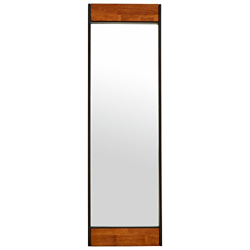 Rivet Modern Wood and Iron Mirror 31b 2Bj2RfdYL