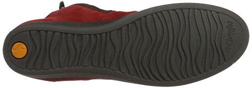 Red 006 Red Red Toe Ayo411sof Closed Women's Softinos Heels Y4qzp