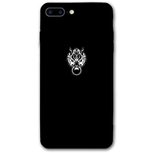 Case For Iphone 7 Plus Final Fantasy Animals Wolf Slim Fit Shell Full Protective Anti-Scratch Resistant Cover Apple IPhone 7 Plus Case Arctic Gray Wolf