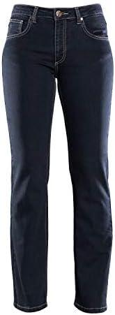 COLAC Damen Jeans Martha in Black mit Straight Fit mit Stretch