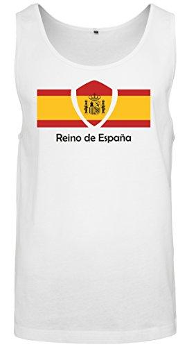 Drapeau Espagne 2018 Les Homme Pays 2store24 Coupe Participants Monde Football Du Tous Débardeur 0qgFnf4w