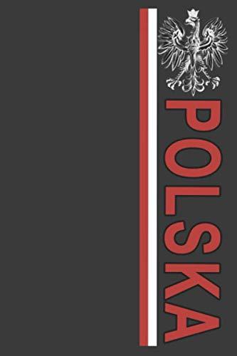 - Polska: Vintage-effect Polish Flag Stripe and Eagle Emblem Lined Notebook