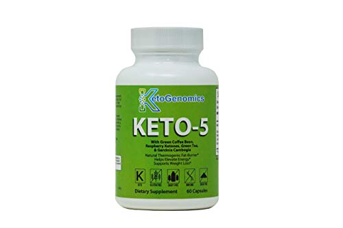 Best Keto Pills - Weight Loss Supplements to Burn Fat Fast - Boost Energy and Metabolism - Best Ketosis Supplement for Women and Men - Best Keto Diet - 60 Capsules-by KetoGenomics LLC. (Slim Vox Weight Loss Pills)