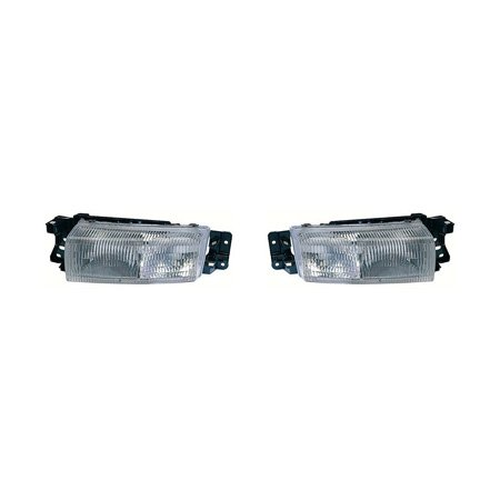 Fits Oldsmobile Achieva 1992-1998 Headlight Unit Driver and Passenger Side GM2502178, GM2503178 ()
