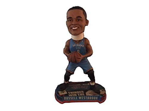 FOCO Oklahoma City Thunder Westbrook R. #0 Headline Bobble by FOCO