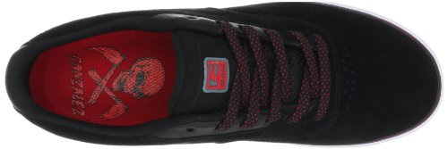 Der Sabbat-Skate-Schuh der Kugel-Männer Schwarz Rot