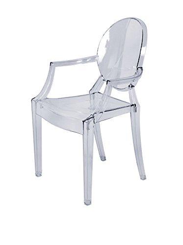 Amazon.com: Stilnovo los niños Casper silla, transparente ...