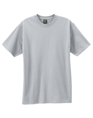 By Hanes Beefy-T Adult Short-Sleeve T-Shirt_Ash_M ()