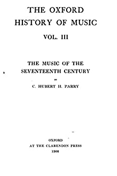 oxford history of music pdf