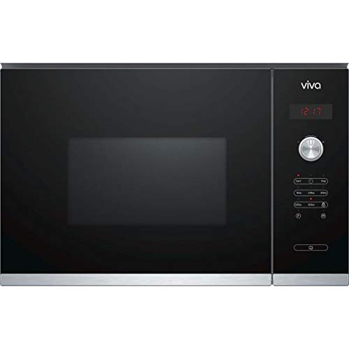 Microondas encastrable solo negro Viva vp65g0160: Amazon.es ...