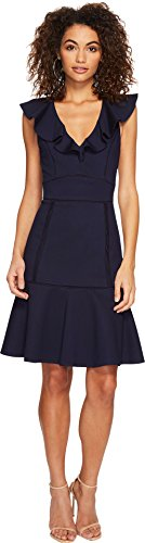 Adelyn Rae Women's Gia Dress Navy Large by Adelyn Rae
