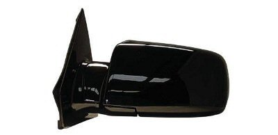 2000-2005 Chevrolet/Chevy Astro Van, GMC Safari Van Power Gloss Black Below Eyeline Type Rear View Mirror Left Driver Side (2000 00 2001 01 2002 02 2003 03 2004 04 2005 05) (Safari Van Mirror Power Black)
