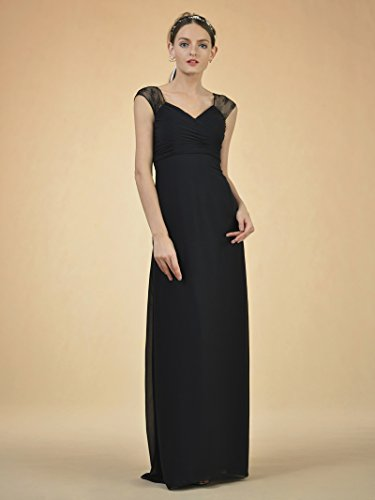 Navy Evening Maxi Dress Bridesmaid Alicepub Formal Empire Waist Gown Long Party Prom nZqwYP0F