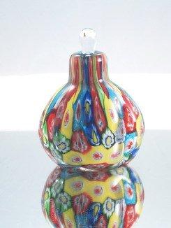 Vase Bottle Perfume (M Design Art Handcraft Glass Millefiori Perfume Bottle BCJ-420)