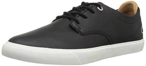 Price comparison product image Lacoste Kids' Esparre 118 1 CAJ Sneakers,Black/Light Tan Synthetic,5 M US Big Kid