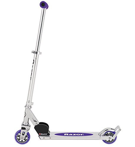 Razor A2 Kick Scooter, Purple